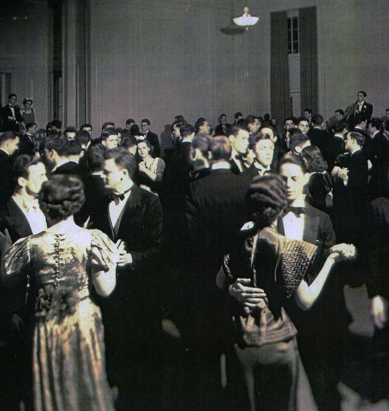 Foote at UNC dance