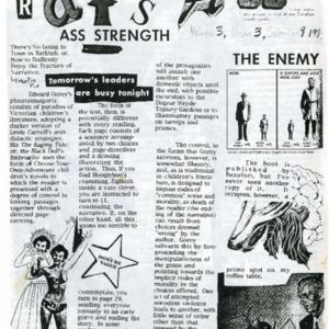 The Rat's Ass, September 9, 1994, Volume 03, Issue 03