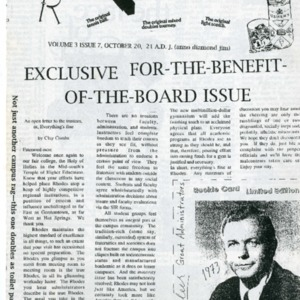 The Rat's Ass, October 7, 1994, Volume 03, Issue 07