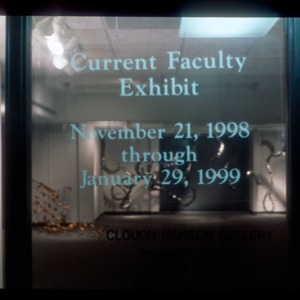 Current Faculty Exhibit (1998)
