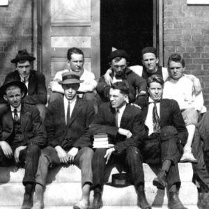 Gordon_Image11_ Males students outside dorm