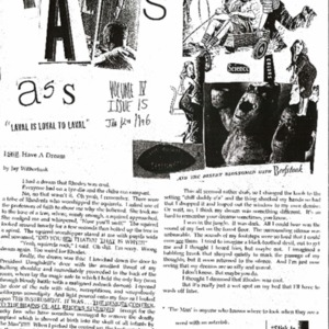 The Rat's Ass, January 12, 1996, Volume 04, Issue 15