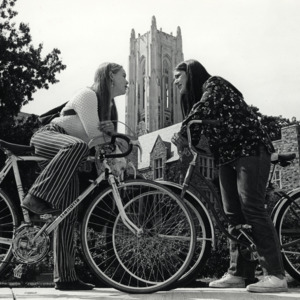 Fashion_1970_girls_on_bikes_Halliburton_Tower