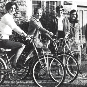 Fashion_1968_Women_bicycles-Trezevant_Dorm_Board