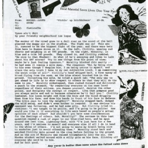 The Rat's Ass, October 6, 1995, Volume 04, Issue 08