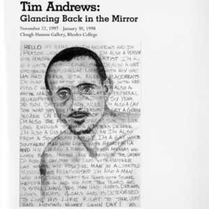 Tim Andrews: Glancing Back in the Mirror