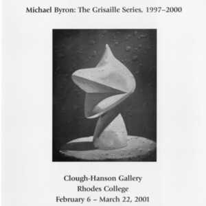 Michael Byron: The Grisaille Series, 1997-2000