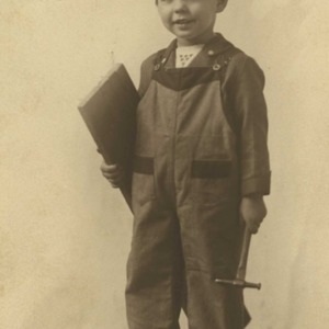 Foote about four years old in 1921