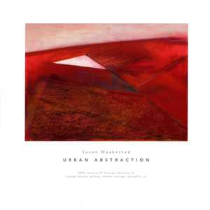 Susan Maakestad: Urban Abstraction Brochure